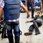 """Unjustly violent. Bangladesh police deliberately """"kneecapping"""" – shooting & maiming detainees, journalists & opposition supporters"""